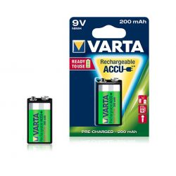 Rechargeable battery Varta 9V 200 mAh