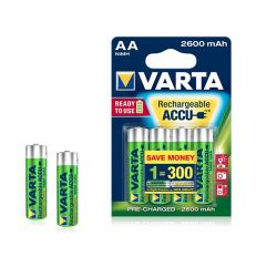 Varta rechargeable battery AA 2600mah
