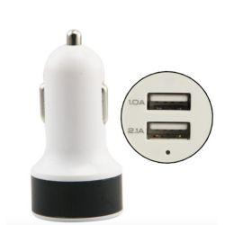 Adaptador de coche USB con  2 salidas