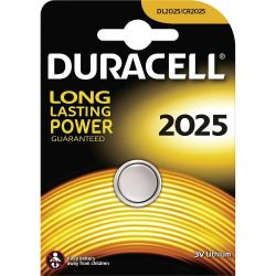 Batteries DURACELL CR2025