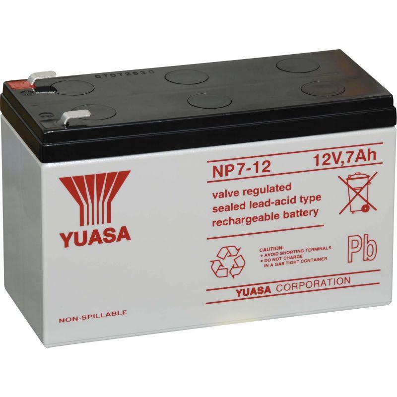 Lead 12V 7A YUASA battery