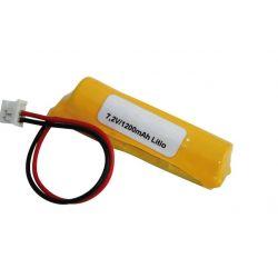 Lithium battery 7.2 V 1200mah