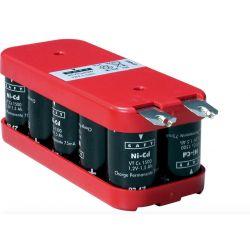 Saft Battery 12V 1600mah NI-CD