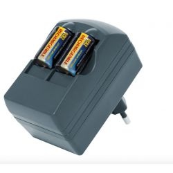Charger + rechargeable batteries CR123