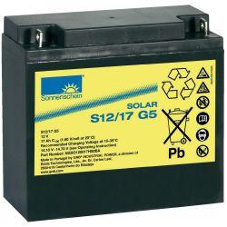 Battery 12V 17Ah Sonnenschein