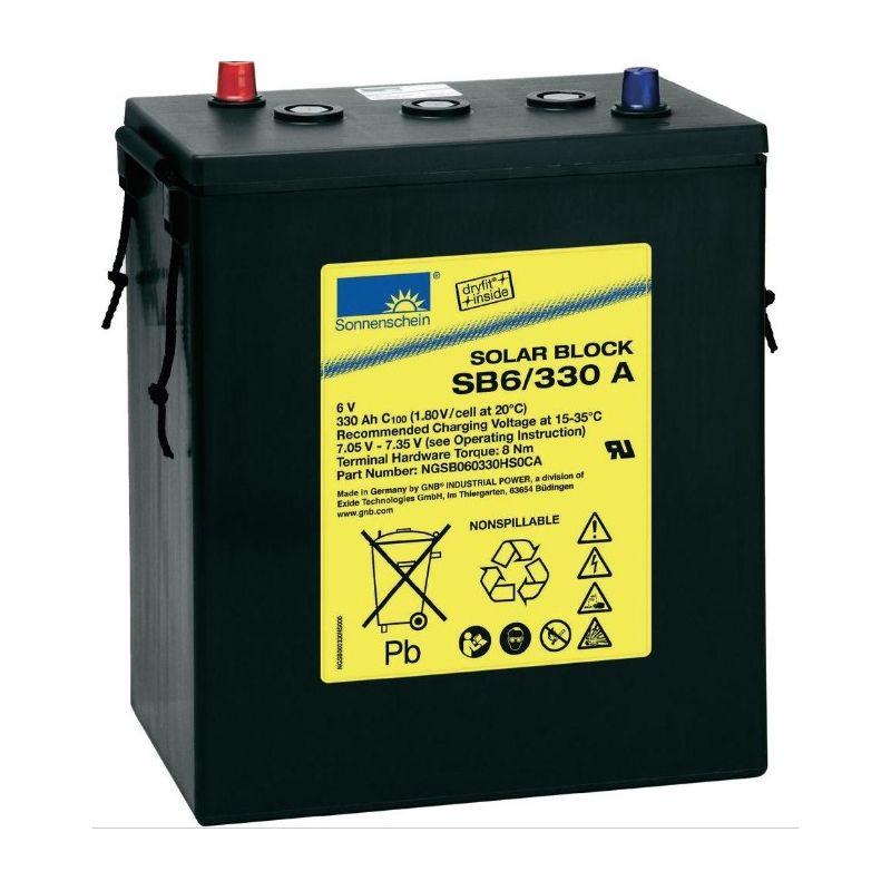 Battery Sonnenschein 6V 330Ah
