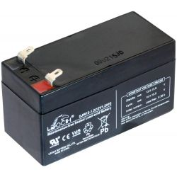 Battery lead 12V 1.3A