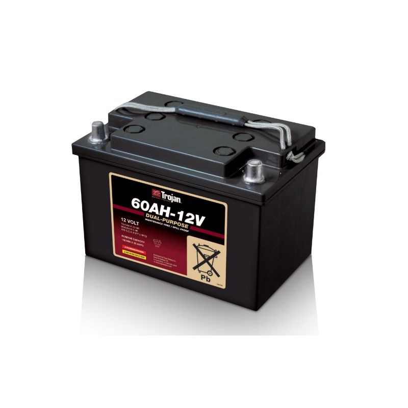 battery trojan 60ah 12v trojan battery 12v lead acid batteries. Black Bedroom Furniture Sets. Home Design Ideas