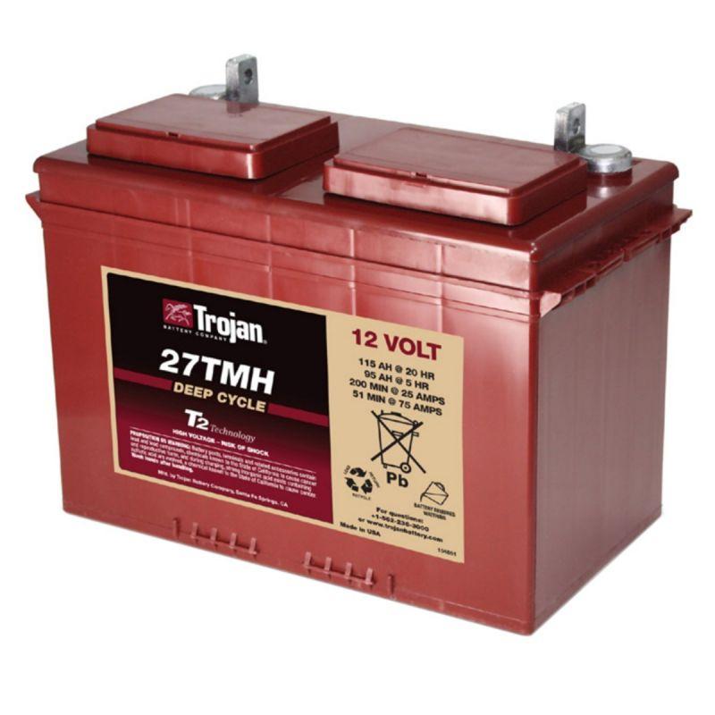 Battery Trojan 27tmh Trojan Battery 12v Lead Acid Batteries