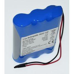 Pack Batteries, Lithium 18650 Battery 3.7 V 7800mAh