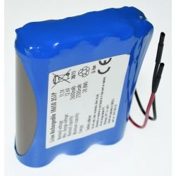 View larger Pack Batteries Lithium 18650 11.1 V 2600mAh