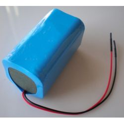 Pack Batteries Lithium 18650 14.8 V 2600mAh