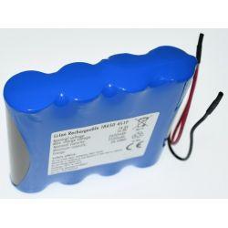 Pack Batteries Lithium 18650 14.8 V 2600mAh Line