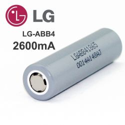 Battery Lithium LG INR 18650
