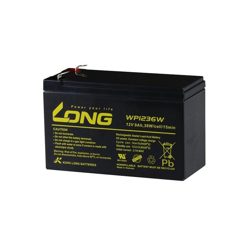 Battery LONG WP1236W 12V 9Ah Long 12V Lead Acid Batteries
