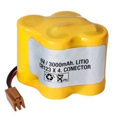 Lithium battery 6V 3600mAh