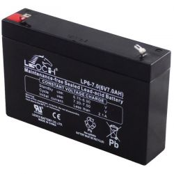 Battery lead 6V 7.2A