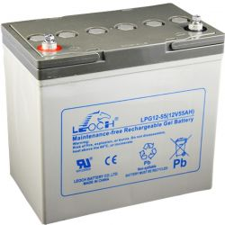 Gel battery Leoch 12V 55Ah