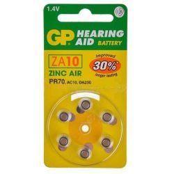 Pilas audífonos GP Mod.ZA10...