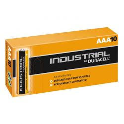Battery Duracell Industrial LR03 AAA 1.5 V Box of 10