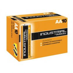 Duracell batteries Industrial LR6 AA 1.5 V Box of 10