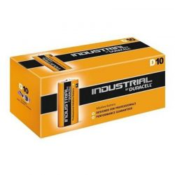 Battery Duracell Industrial LR20 D 1,5 V Box 10