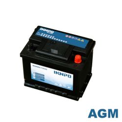 Marine Battery INNPO AGM 60Ah