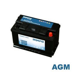 Marine Battery INNPO AGM 80Ah