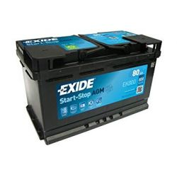 Exide Start Stop AGM EK800