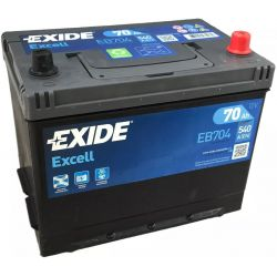 Battery Exide Excell EB704