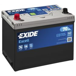 Battery Exide Excell EB705