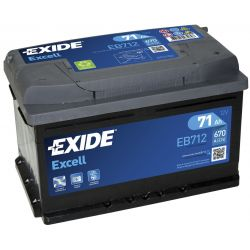 Battery Exide Excell EB712