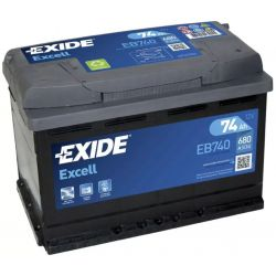 Battery Exide Excell EB740