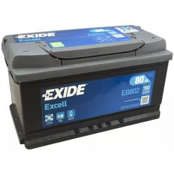 Battery Exide Excell EB802