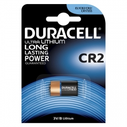 Battery Lithium Duracell CR2