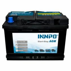 Battery INNPO AGM 70Ah 760A