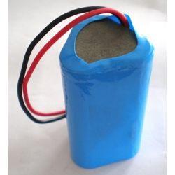 Pack Batteries Lithium 18650 3.7 V 7800mAh Triangular