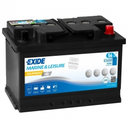 Battery Exide ES650 GEL 56Ah