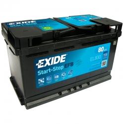 Battery Exide EL800 80Ah