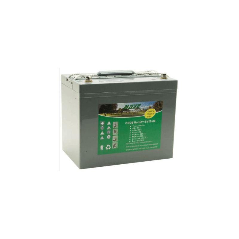 Battery GEL HAZE 12V 80Ah