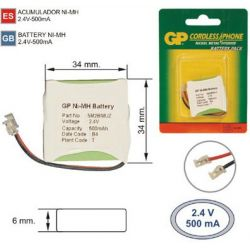 Battery cordless Phone T304_C3 2.4 V 500mAh