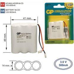 Battery Phone cordless T110 3.6 V 600mAh