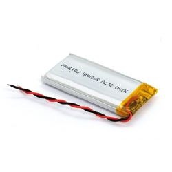 Battery rechargeable Li-polymer 500mAh