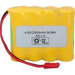 Pack Bateria 4.8V 2500mah (AA)