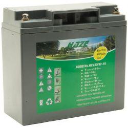 Batería GEL Marca HAZE mod. 12V 18A