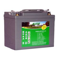 Batería GEL Marca HAZE mod. 12V 33A