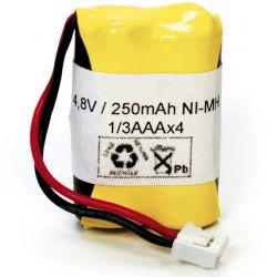 Pack de batería 4.8V 250mah