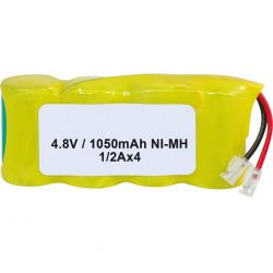 Pack de baterías 4.8V 1050mah