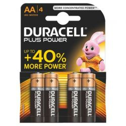 Batteries Duracell Plus Power LR06 AA