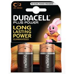 Batteries Duracell Plus Power LR14